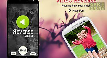 Video reverse video editor
