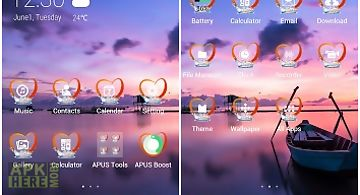 Happinessi-apus launcher theme