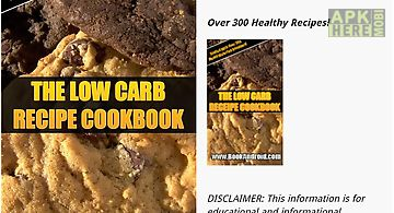 Low carb recipe cookbook