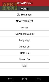 Wordproject audio bible for Android free download at Apk