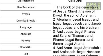 Amharic audio bible for Android free download at Apk Here
