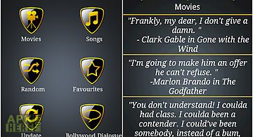 Movie and song quotes