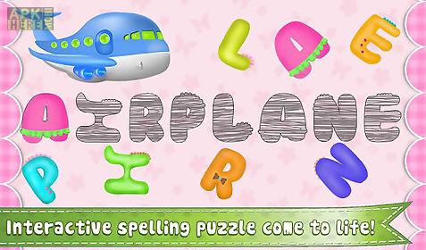 preschool words for kids