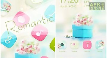 Romantic go launcher themes