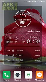 transparent weather forecast