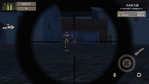 attack shooting 3d