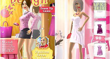 Fashion design dress up game