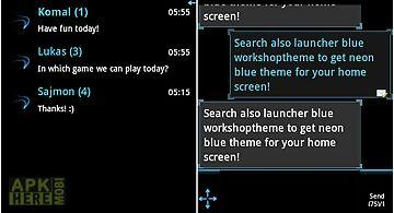 Go sms pro theme ice minimal