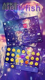 jellyfish kika keyboard theme