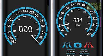 Night speedometer