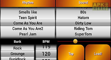 Rock drum machine free