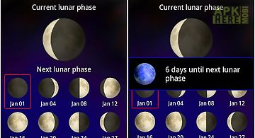 Cool moon - lunar calendar