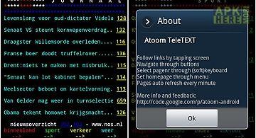 Dutch teletext (teletekst)