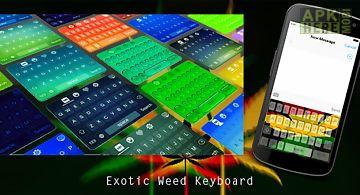 Exotic weed keyboard