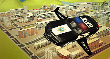 Flying police car 3d simulator