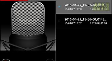 Voice recorder hd for profession..