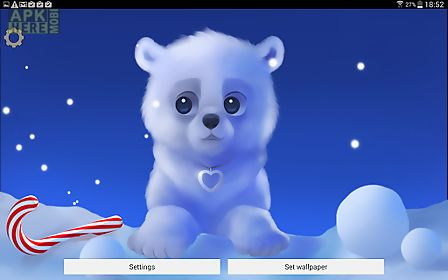 Polar Chub Lite App For Android Description Live Wallpaper Is Animated And Interactive On Your Home Screen