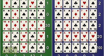 Smooth poker solitaire