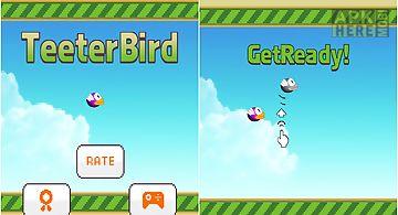 Teeter bird - flappy bird versio..