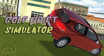 Golf drift simulator