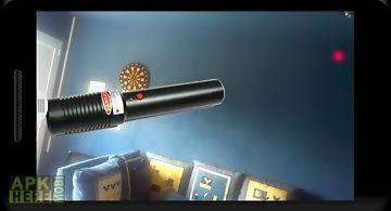 Laser light red dot