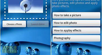 Photo editor photo effects