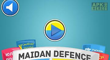 Revolution: maidan defence