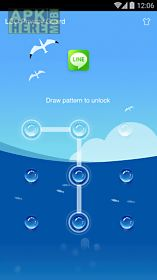 applock theme - sea