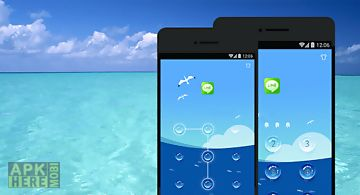 Applock theme - sea