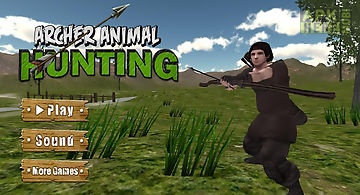 Archer animal hunting