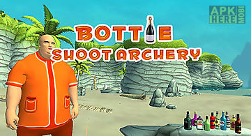 Bottle shoot: archery
