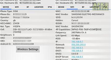 Network info ii