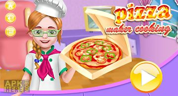 Pizza maker cooking