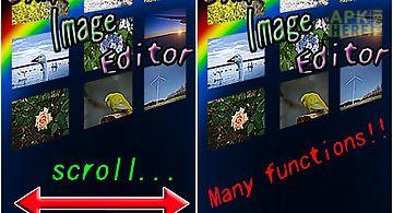 Simple image editor