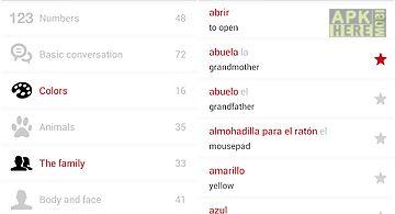 Spanish words with audio lite
