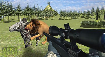 Extreme wild lion hunting 3d