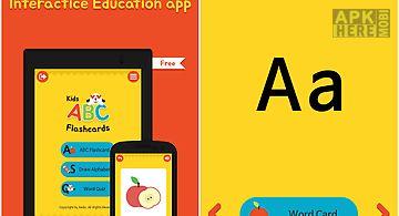 Kids abc alphabet flashcards