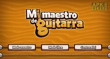 Mi maestro de guitarra
