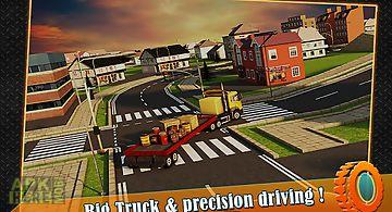 Transport trucker 3d