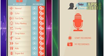Voice changer & audio effects