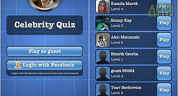 Celebrity quiz new
