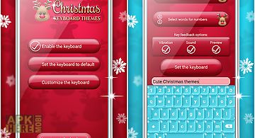 Christmas keyboard themes