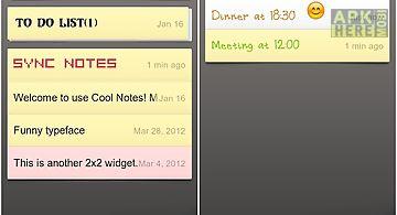 Cool note notepad & emoji font