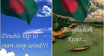 3d bangladesh flag lwp Live Wall..