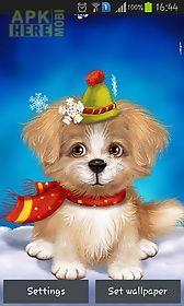 cute puppy live wallpaper