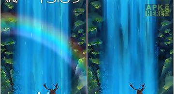 Mystic waterfall Live Wallpaper