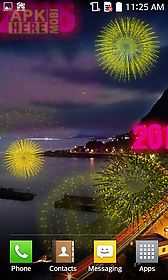 new year fireworks 2016 live wallpaper