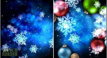 Snow stars Live Wallpaper
