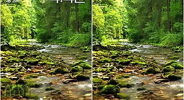 Wonderful forest river Live Wall..