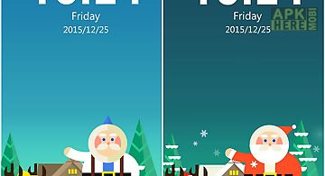Shining christmas locker theme for Android free download at Apk ...